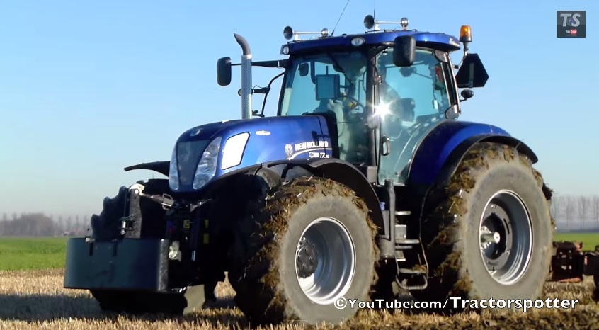Nieuwe New Holland T7 310 Blue Power 310pk Tractorspotter