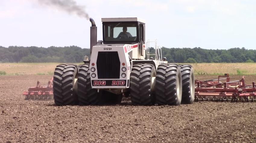 John Deere 445 >> 525 pk Big Bud 525/50 4wd Tractor